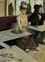 L'Absinthe, by Edgar Degas