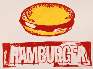 Andy Warhol - Hamburger