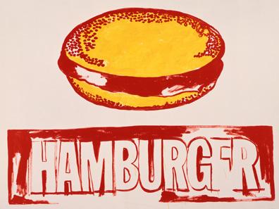 Andy Warhol - Hamburger