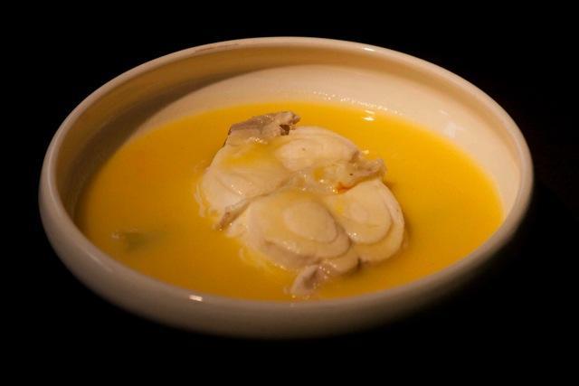 ψαρόσουπα: βλάχος σούπα με σαφράν