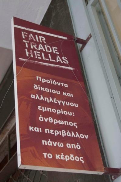 Fair Trade katastima sti Veikou