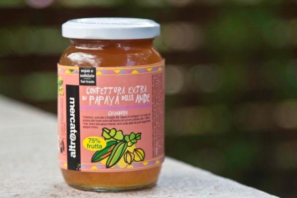 proionta Fair Trade: marmelada papaya
